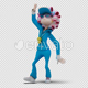 Cartoon Woman with Dancing Samba 01 - VideoHive Item for Sale