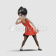 Cartoon Girl with Dancing House - VideoHive Item for Sale