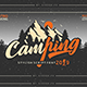 Camping Font Script - GraphicRiver Item for Sale