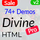 Divine Pro - Creative Agency & Business HTML Template - ThemeForest Item for Sale