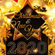 Gold Christmas New Year Celebration Flyer - GraphicRiver Item for Sale
