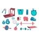 Fitness Equipment Set - GraphicRiver Item for Sale