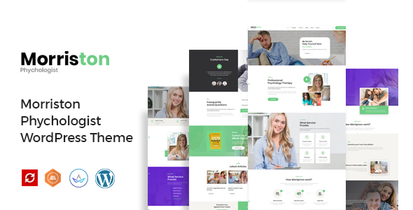 Morriston - Psychologist & Counseling WordPress Theme