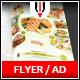 Restaurant Flyer / Magazine AD - GraphicRiver Item for Sale
