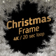 Christmas Frame White 4K - VideoHive Item for Sale