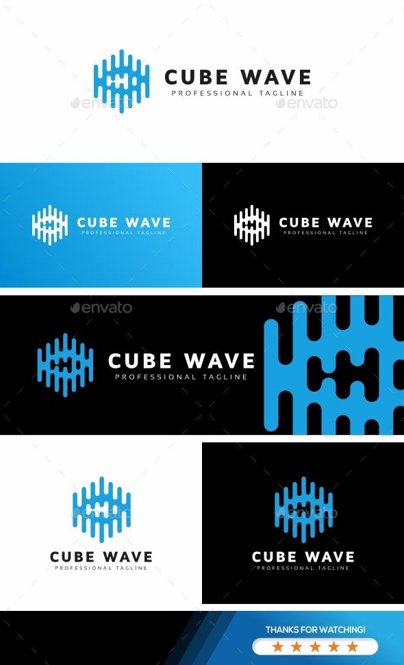 Cube Wave Logo