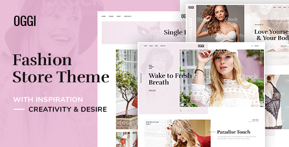OGGI - Fashion Store WooCommerce Theme