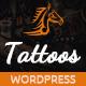 Tattoos - WordPress Theme - ThemeForest Item for Sale