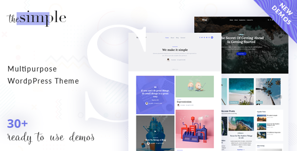 The Simple - Business WordPress Theme