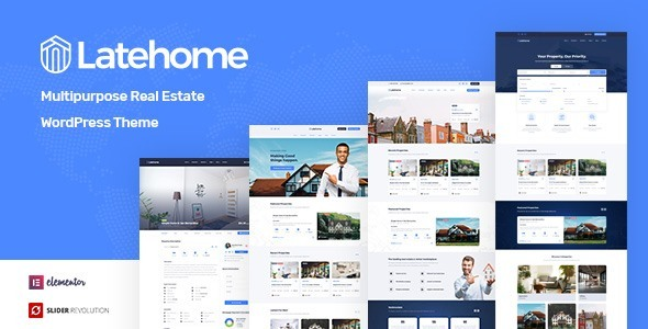 LateHome - Real Estate WordPress Theme