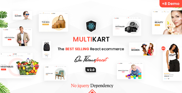 Multikart - Responsive React eCommerce Template
