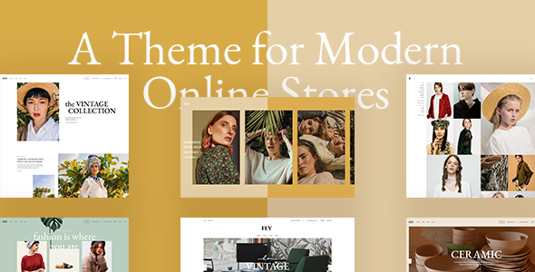 Fey - Modern eCommerce Theme