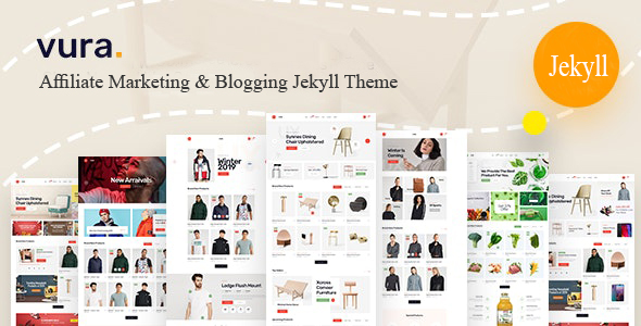 Vura - Affiliate Marketing & Blogging Jekyll Theme