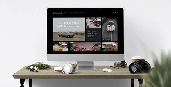 Download RoundRock — Showcase & Blog Drupal Theme
