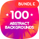 Generate - 100 Different Abstract Backgrounds Bundle - GraphicRiver Item for Sale