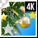Christmas Decorative Ornaments Frame 4k - VideoHive Item for Sale