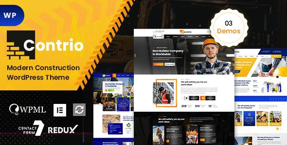 Contio - Construction WordPress