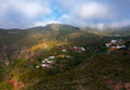 Aerial view of a settlement in mountains. Tenerife, Canary Islands, Spain - PhotoDune Item for Sale