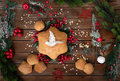 Star shaped Christmas bread - PhotoDune Item for Sale