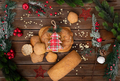 Bread decorated for Christmas - PhotoDune Item for Sale