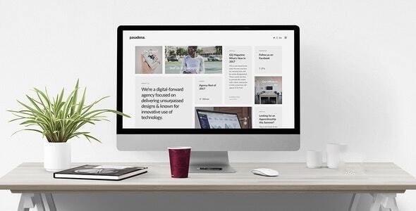 Pasadena - Sophisticated Branding Agency Joomla Template