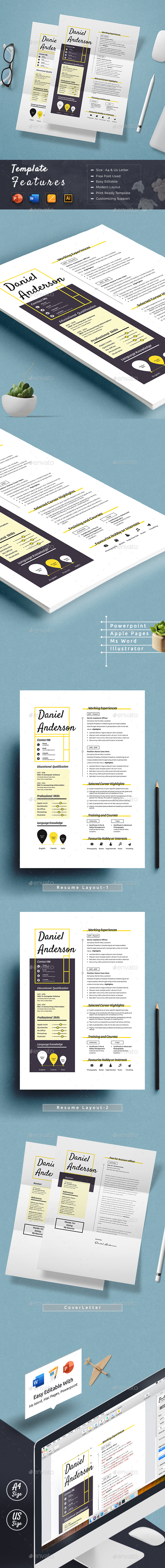 Clean Resume Cv Template