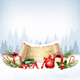 Christmas Holiday Background with Colorful Gift Boxes and Old Paper - GraphicRiver Item for Sale