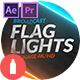 Broadcast Flag Lights - VideoHive Item for Sale
