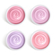 Set of Milk and Berry Yogurt Top View - GraphicRiver Item for Sale