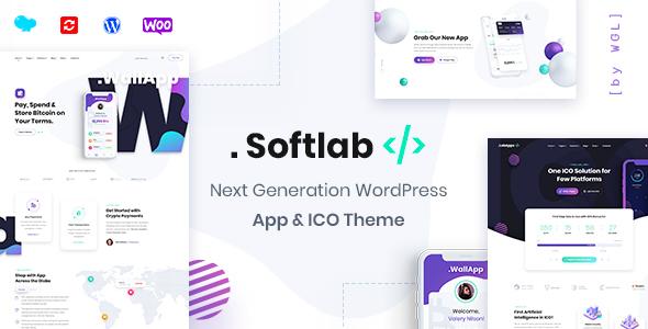 Softlab - Startup and App WordPress Theme
