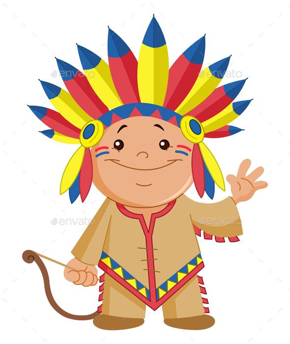 Native American Kid