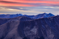sunset in Fagaras Mountains, Romania - PhotoDune Item for Sale
