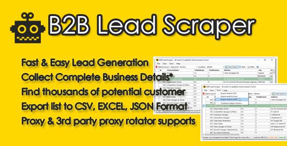 B2B Lead Scraper