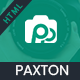 Paxton - Photography Portfolio Template - ThemeForest Item for Sale