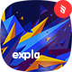 Expla - Polygonal Explosion Backgrounds - GraphicRiver Item for Sale