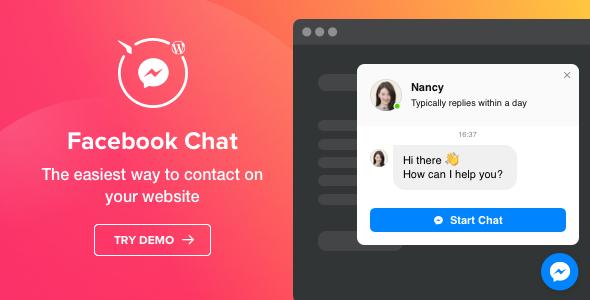 Facebook Chat - WordPress Facebook Messenger