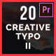 20 Creative Typo II - VideoHive Item for Sale
