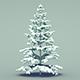 Pine Tree (Snow) - 3DOcean Item for Sale