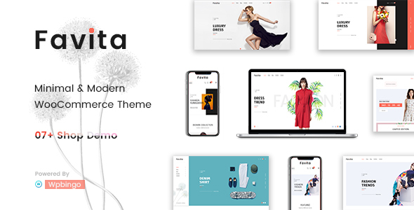 Favita - Fashion WooCommerce WordPress Theme