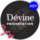 Devine Floral Ornament Keynote Template - GraphicRiver Item for Sale