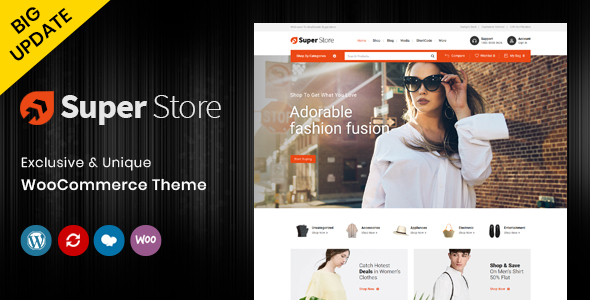 Super Store - Multipurpose WooCommerce Theme