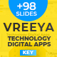 Vreeya - Technology Digital Apps Professional Business Presentation - GraphicRiver Item for Sale