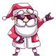 Santa Flyer - GraphicRiver Item for Sale