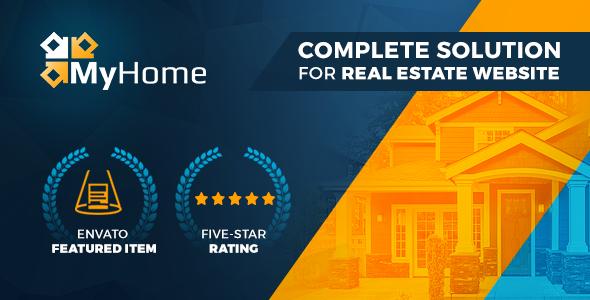 MyHome Real Estate WordPress