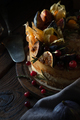 Cheesecake with physalis and dates and wild berries - PhotoDune Item for Sale