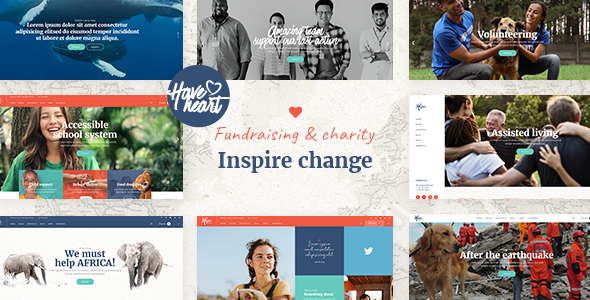 HaveHeart - Fundraising and Charity Theme 16