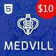Medvill - Medical HTML Template - ThemeForest Item for Sale