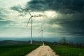 Wind turbines on the field - PhotoDune Item for Sale