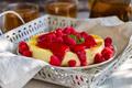 Cheesecake with raspberry sauce - PhotoDune Item for Sale