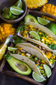 Chicken tacos with mango salsa - PhotoDune Item for Sale